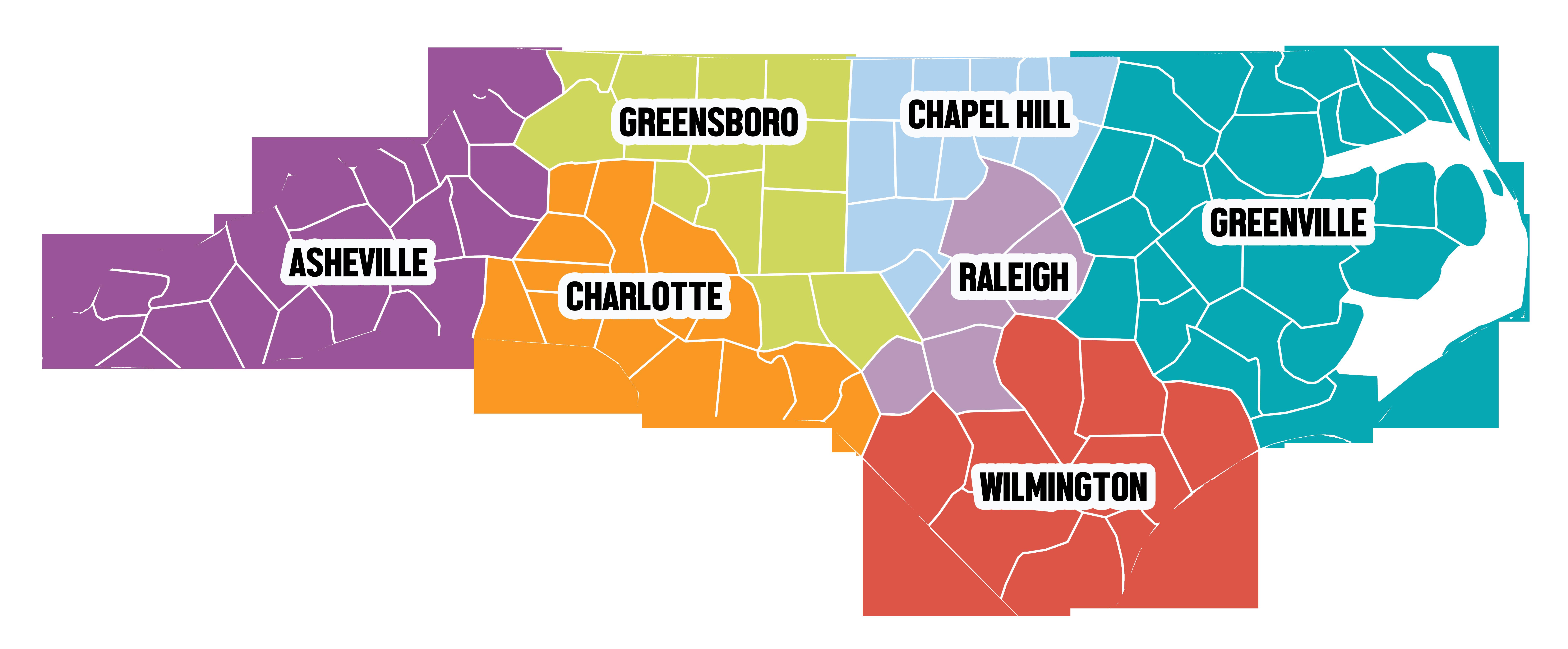 Regional Centers | TEACCH® Autism Program