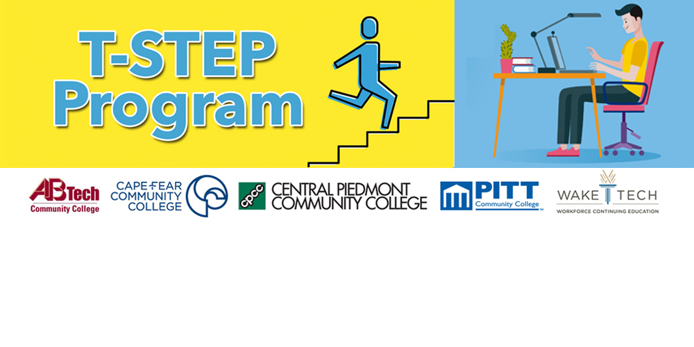 TSTEP website banner with logos