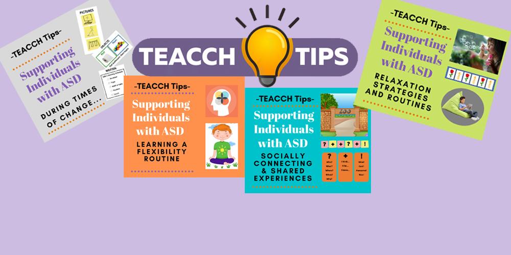 teacch slider teacch tips