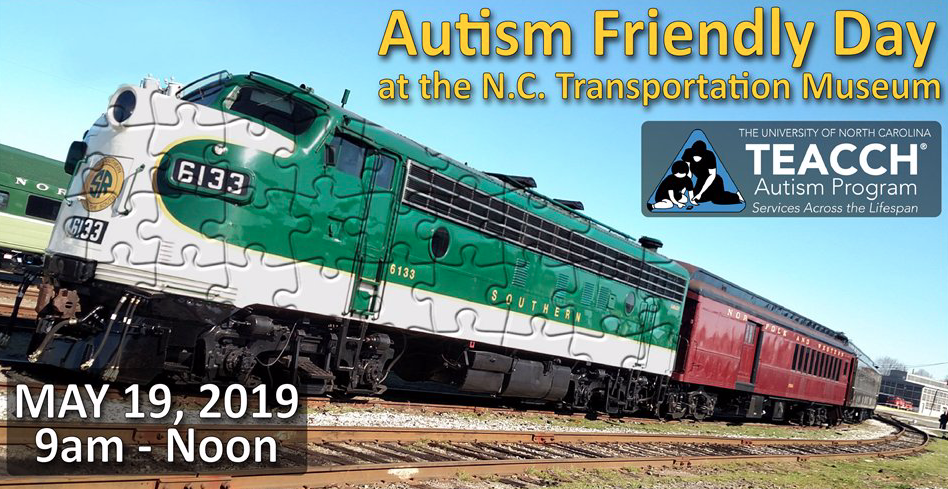 Autism Friendly Day at NC Transportation Museum