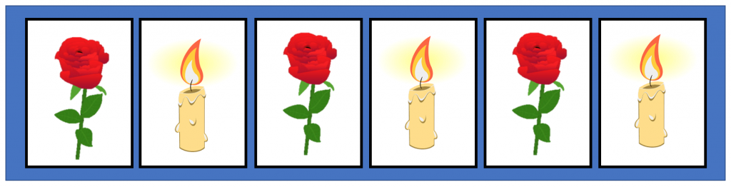 flower candle relax image