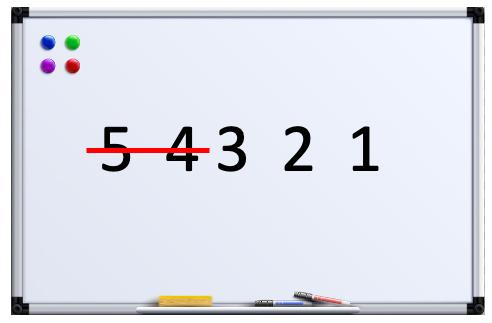 whiteboard countdown