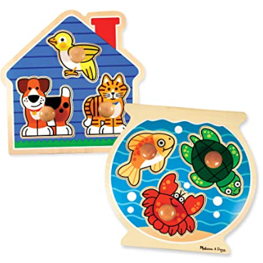 jumbo knob wooden puzzles