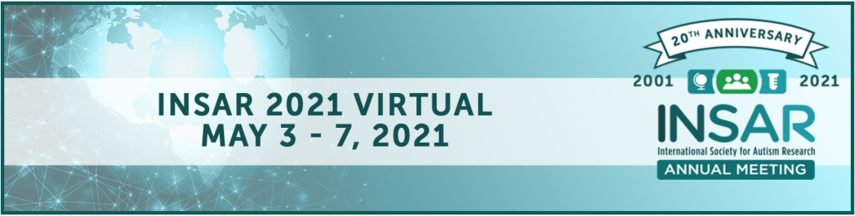 INSAR 2021 Virtual Conference banner image